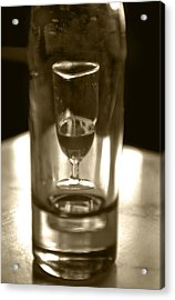 Bottle And Glass0023 Acrylic Print