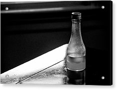 Bottle Near Window Acrylic Print by Guillermo Hakim