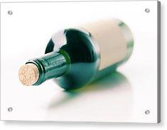 Bottle Of Wine Acrylic Print by Wladimir Bulgar
