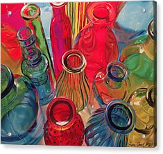 Bottle Tops Acrylic Print