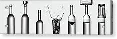 Bottles Game Acrylic Print
