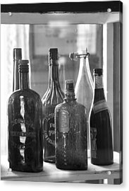 Bottles Of Bodie Acrylic Print
