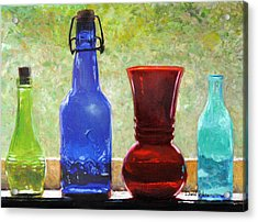 Da142 Bottles Of Time Daniel Adams Acrylic Print