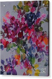 Bougainvillea Acrylic Print by Michelle Abrams