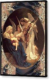 Bouguereau Vintage Angels 2 Acrylic Print