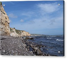 Acrylic Print featuring the photograph Boulder Beach by Christine Drake