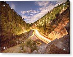 Boulder Canyon Dreamin Acrylic Print by James BO  Insogna