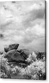 Boulders In Another Light Acrylic Print by Michael McGowan