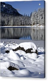Boulders Of Mcleod Acrylic Print by Chris Brannen