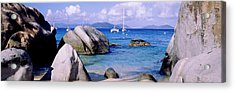 Boulders On A Coast, The Baths, Virgin Acrylic Print by Panoramic Images