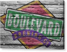 Boulevard Brewing Acrylic Print by Joe Hamilton