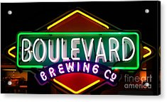 Boulevard Brewing Acrylic Print by Kelly Awad