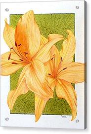 Bounding Bloom Acrylic Print