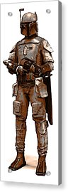 Bounty Hunter Acrylic Print