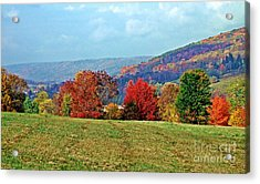 Bounty Of The Hills Acrylic Print by Christian Mattison