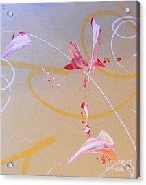 Bouquet 6 Acrylic Print by Nancy Kane Chapman
