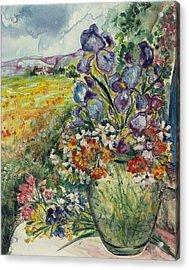 Bouquet De Provence Acrylic Print