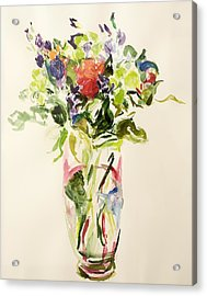 Bouquet  Acrylic Print by Julie Held