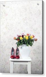 Bouquet Of Roses Acrylic Print by Joana Kruse