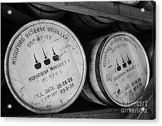 Bourbon Barrels Acrylic Print