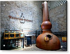 Bourbon Distillery Acrylic Print by Alexey Stiop