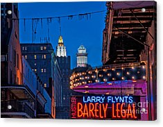 Bourbon Street And Cbd Lights  Acrylic Print