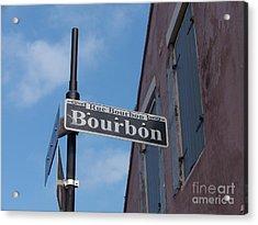 Bourbon Street Acrylic Print by Kevin Croitz