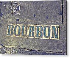 Bourbon Street Tiles Acrylic Print