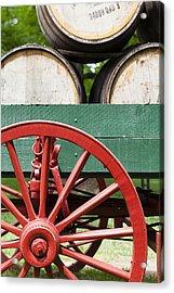 Bourbon Wagon Acrylic Print