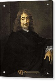 Bourdon, S�bastien 1616-1671. Portrait Acrylic Print by Everett