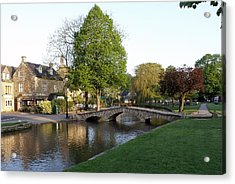 Bourton On The Water 2 Acrylic Print
