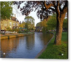 Bourton On The Water 3 Acrylic Print