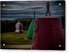 Bouy's Lizard Lighthouse Acrylic Print by Martin Newman