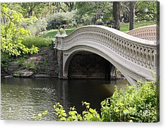 Bow Bridge Iv Acrylic Print