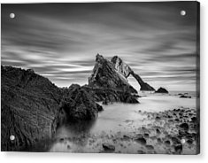 Bow Fiddle Rock 1 Acrylic Print by Dave Bowman