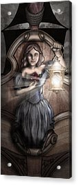 Bow Maiden Acrylic Print by April Moen