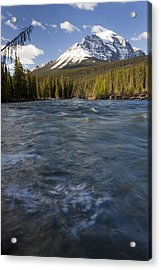 Bow River At Lake Louise Acrylic Print