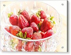 Bowl Of Berries Acrylic Print