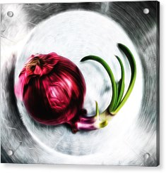 Bowl Of Onion Acrylic Print