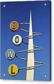 Bowl Sign Acrylic Print