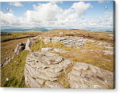 Bowland Knotts Acrylic Print by Ashley Cooper