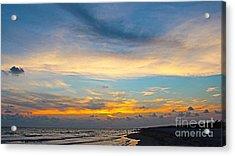 Bowman's Beach Sunset Acrylic Print