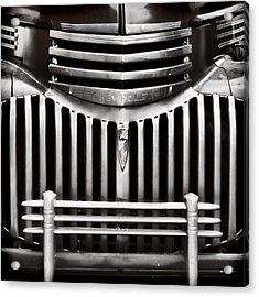Bowtie Lines Acrylic Print by Ken Smith