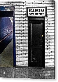 Box Office Of Games Gone By Acrylic Print