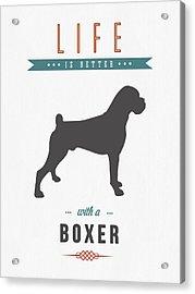 Boxer 01 Acrylic Print
