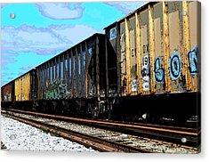 Boxxcars Acrylic Print
