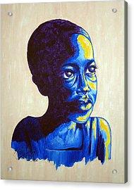 Boy Dreams Acrylic Print
