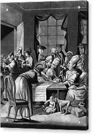 Boycott Of British Tea Acrylic Print by Granger
