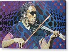 Boyd Tinsley Pop-op Series Acrylic Print