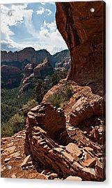 Boynton Canyon 08-160 Acrylic Print by Scott McAllister